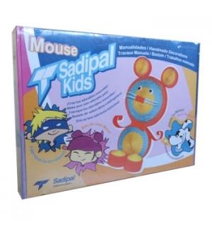 Kit Montagem Cartão Sadipal Kids Mouse