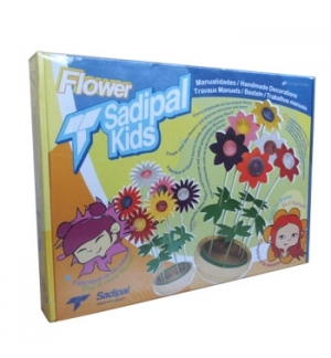 Kit Montagem Cartão Sadipal Kids Flower