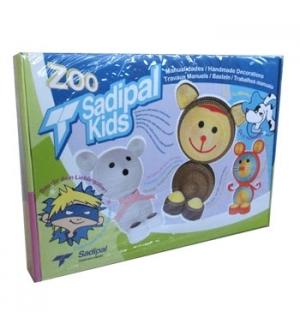 Kit Montagem Cartão Sadipal Kids Zoo