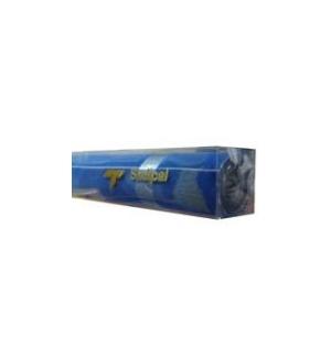 Papel Veludo Adesivo 0.45x1mts Rolo Azul