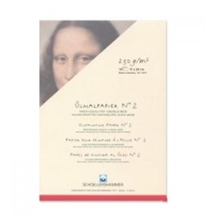 Bloco Papel Pintura Oleo 17x24cm 230gr 10Folhas