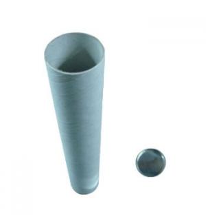 Porta Desenhos Tubo Cartao 75cm Diametro 7,3cm