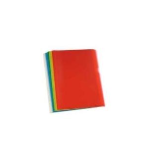 Bolsa Plastico em L A4 Transl Amarelo (90microns) Pack100un