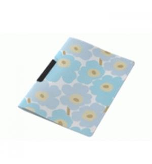 Dossier Plast c/Clip Marimekko 325x245mm Azul-1un