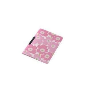 Dossier Plast c/Clip Marimekko 325x245mm Rosa-1un