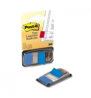 Post-it Index 1 Polegada Azul - 1un