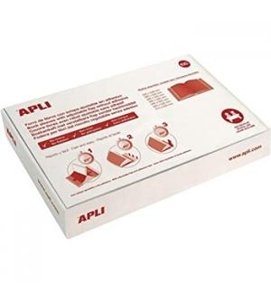 Forra Livros Ajustavel Apli 310x530mm Transp 130mic 25un