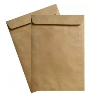 Envelopes Saco 229x324mm Kraft Autodex Pack 50un