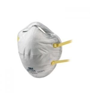 Mascara autofiltrante moldada para parti s/ valvula 8710