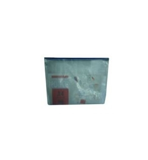 Bolsa Plastico A6 c/Reforco Fio (10x15) c/Fecho Correr 1un