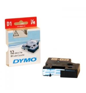 Fita Gravacao Dymo 12mmX7m Preto/Branco (45013)