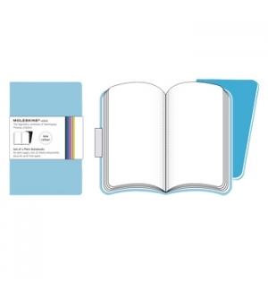Volant XS Liso Moleskine Azul Claro Pack 2un