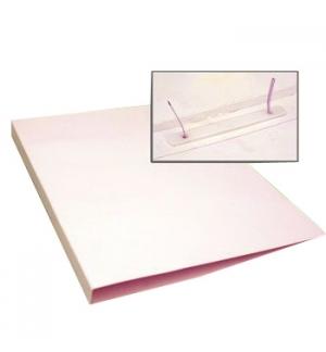 Dossier Cartolina Alto Brilho 350gr L10 c/Ferragem Branco