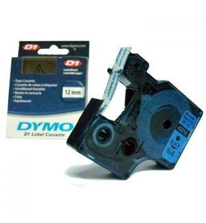 Fita Gravacao Dymo 12mmX7m Azul/Preto (45016)