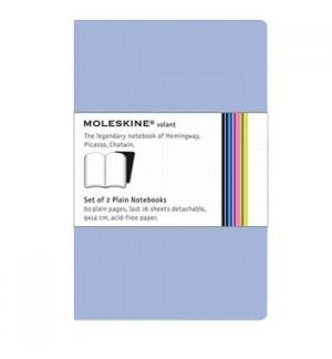 Volant de Bolso Liso Moleskine Azul Claro Pack 2un
