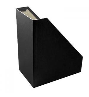 Porta Revistas Cartao L15,5 (30x25) Preto