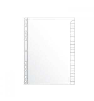 Separadores A4 Cartolina c/Pestana 25un 224x300mm Branco