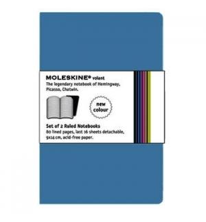 Volant XS Liso Moleskine Azul Escuro Pack 2un