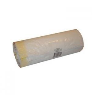 Sacos Lixo 100L Fecho Branco 22,5my 70x105cm 10un