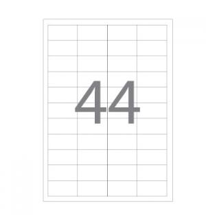 Etiquetas 48,5x25,4 Multi3 100 Folhas A4 4400un