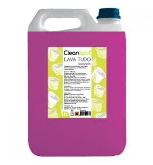 Detergente Lava Tudo Lavanda Cleanspot 5L