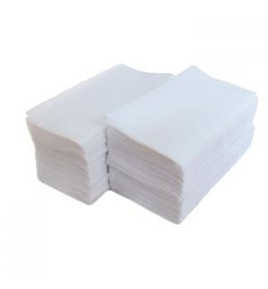 Guardanapos 40x40cm 1/8 Branco dobra (60xMaco25un)(1500un