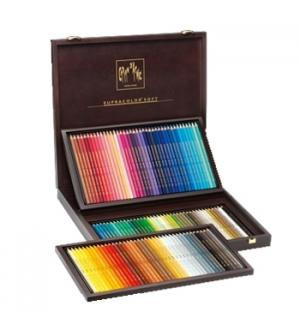 Lápis Cor Caran DAche Supracolor Cx Madeira 120 Cores