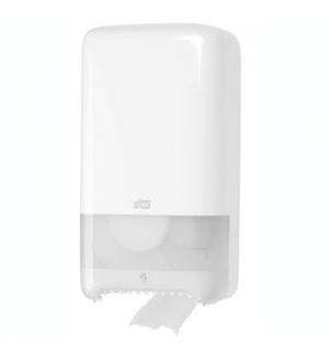 Dispensador Duplo Papel Higienico TORK T6 Cor Branco