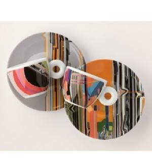 Conj Chav+Pires Esp Illy Art Collection Lui Wei 2un