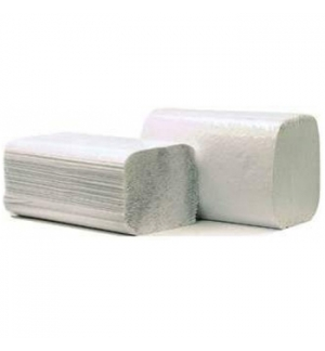 Toalhas Mão ZigZag 23x20 1Fl Cleanspot Reci Cinza 4000un