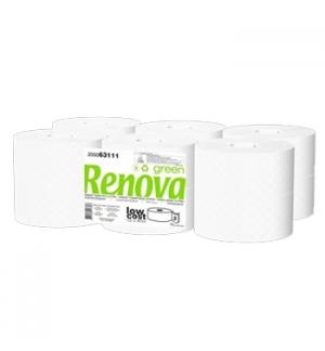 Papel Higienico (Jumbo) 090mts 2Fls RenovaGreen-12un