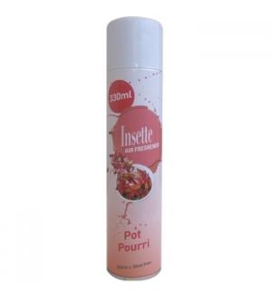 Spray Ambientador Insette 330ml P Pourri