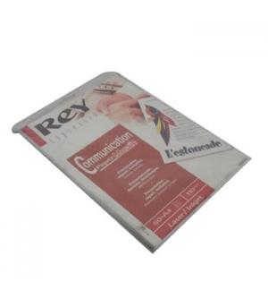 Papel 110gr Laser Inkjet Rey Branco Mosaic A4  50 Folhas