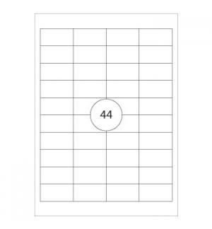 Etiquetas 48,3x25,4 Herma4608 200 Folhas A4 8800un