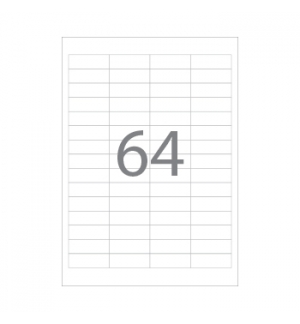 Etiquetas 48,5x16,9 100 Folhas 6400un