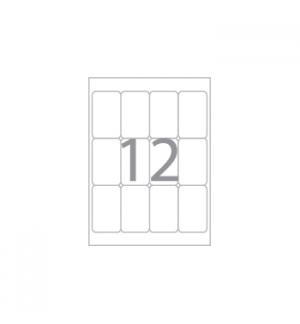 Etiquetas 21x74.6 Apli 15 Folhas A5 300un