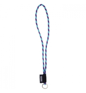 Fita Lanyards Tube Long Roxo / Azul ø8 x 470 mm