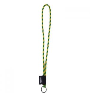 Fita Lanyards Tube Long Amarelo / Verde ø8 x 470 mm