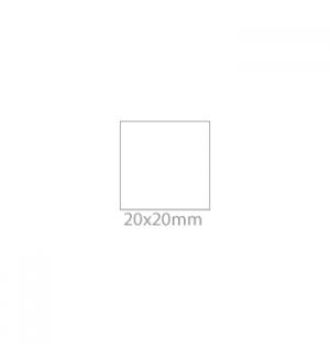 Etiquetas 20x20 Pack de 12 Folhas Brother SC-2000USB