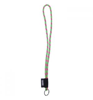 Fita Lanyards Tube Long Verde / Rosa ø8 x 470 mm