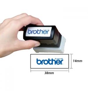 Carimbo BROTHER Azul 6 carimbos de 14 x 38 mm