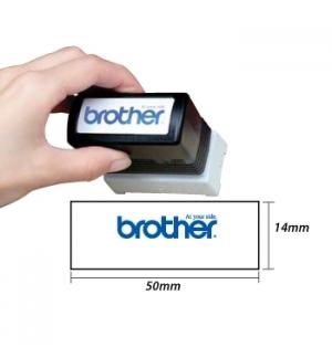 Carimbo BROTHER Azul 6 carimbos de 18 x 50 mm