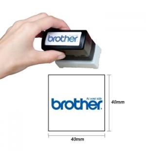 Carimbo BROTHER Azul 6 carimbos de 40x40mm