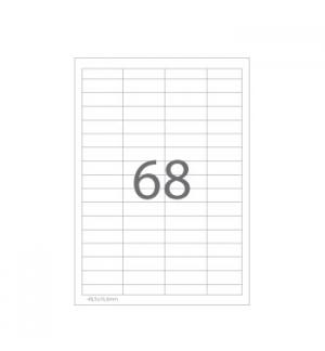 Etiquetas 48,5x16,9 Multi3 100 Folhas 6800un