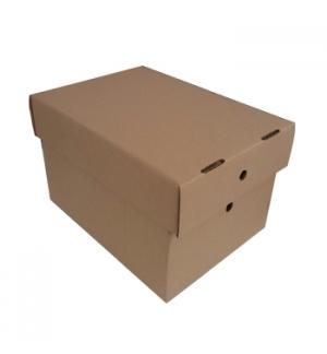 Caixa Cartao Simples c/Tampa 306x226x197mm Pack 25un