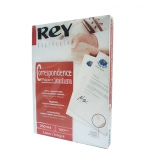 Papel 100gr A4 Rey Laser/Inkjet - 250 Folhas