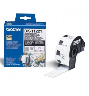 Etiquetas 23x23mm  p/QL-500/550/560/570.. 1000un