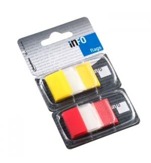 Separador Tape Flags 1 Polegada x2 (Am, Vm) Emb. Individual
