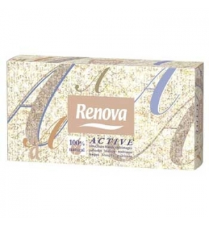 Lencos Papel Facial Renova Active Mini 46un