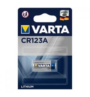 Pilha CR123A Varta 3V 1600mAh (6205)